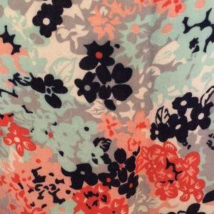 dELiA*s Dresses - Delia's Floral Sundress with Ruffle Hemline